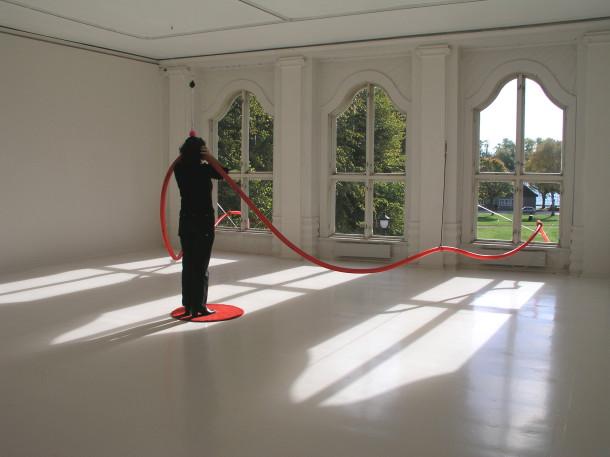 """"""" Ultrafon """" Installasjon av Tina Mareen Buddeberg"""