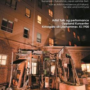 Artist talk og performance med Tei Kobayashi
