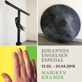 Johannes Engelsen Espedal og Mariken Kramer 12.03. - 24.04.