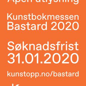 Åpen utlysning for Kunstbokmessen Bastard 2020