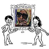 Vi ser på kunst