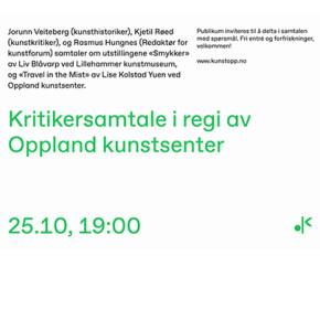 Kritikersamtale med Jorunn Veiteberg, Rasmus Hungnes og Kjetil Røed