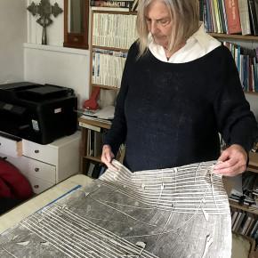 Oppland Kunstsenter sitt delegerte stipend fra BKH i 2019 tildeles Borgny Svalastog