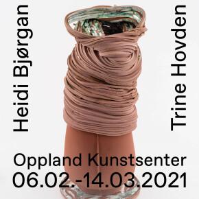 """6.2.-14.3.2021: """"Collision"""" av Heidi Bjørgan og Trine Hovden, og """"Det kompakte og det gjennomskinlege"""" av Kurt Johannesen"""