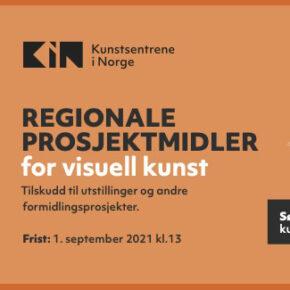 Regionale prosjektmidler for visuell kunst 2021